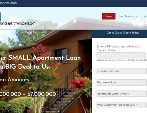 Small Balance Apartment Loans