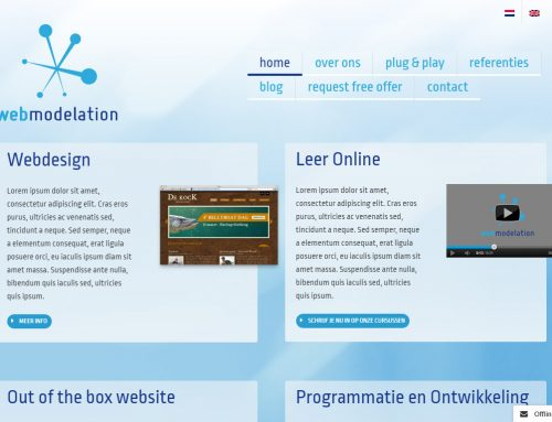 Web Modelation